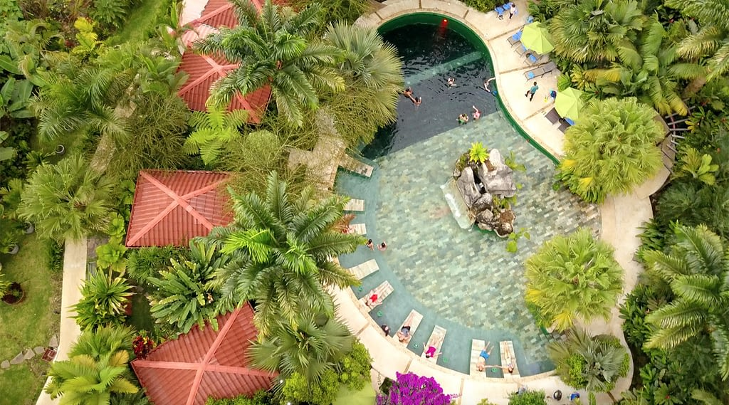 La fortuna Hotel Paradise and hot springs