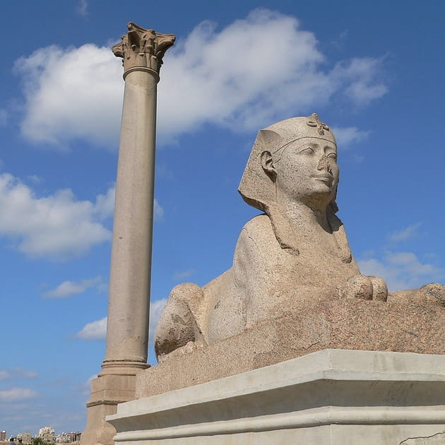 Picture of Pompey's Pillar Egypt