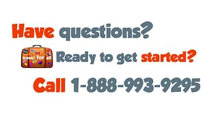 Image with the words Have questions? Ready to get started? Call 1-888-993-9295