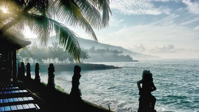 bali candidasa indonesia