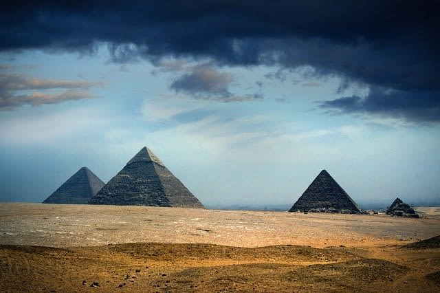 Picture of the Pyramids in Egypt