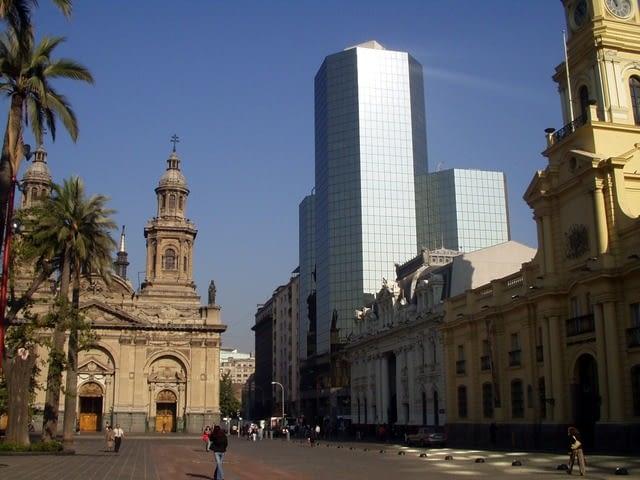 Picture of Santiago City architecture