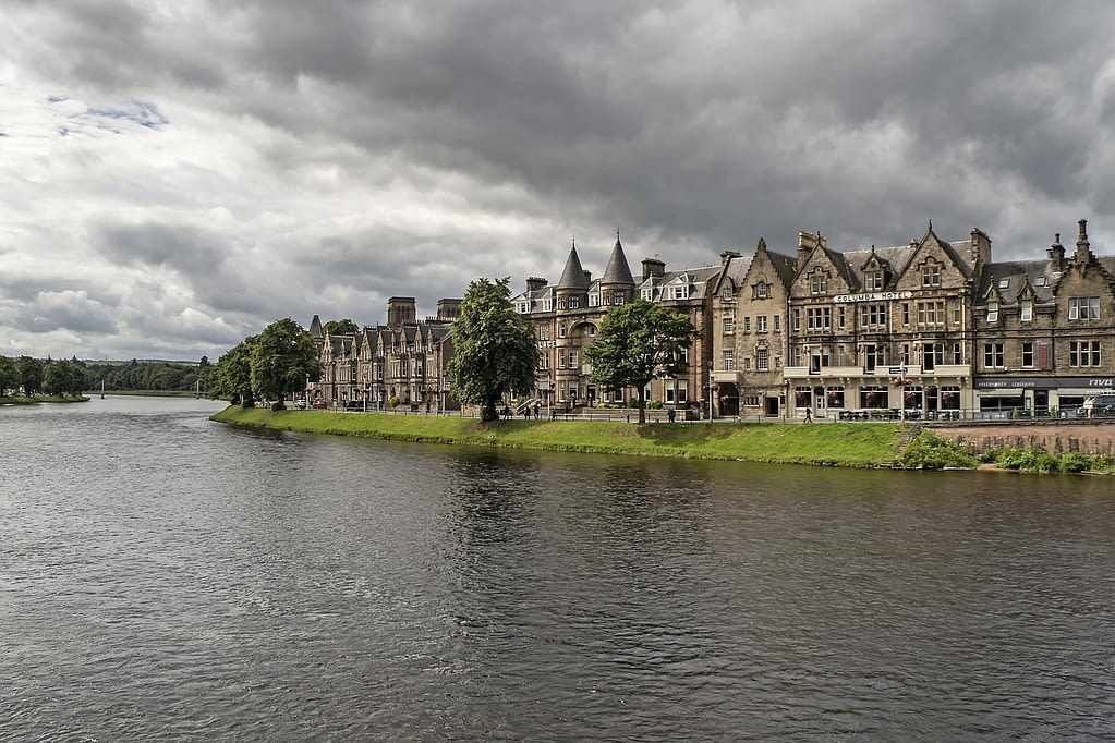 Picture of Inverness from the water
