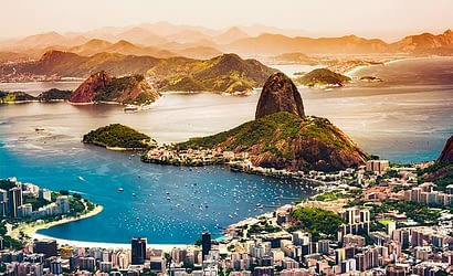 Picture of Rio de Janeiro from the sky
