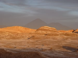 Moon Valley near atacama will take you to another world